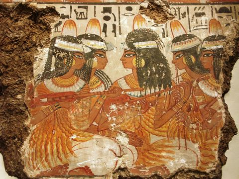 古埃及的衣饰图片