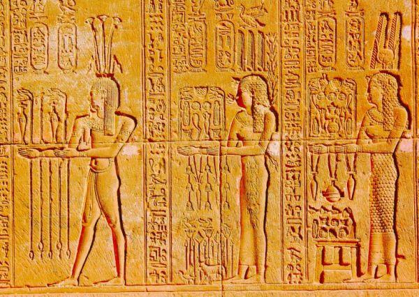 古代美术-古埃及的壁雕
