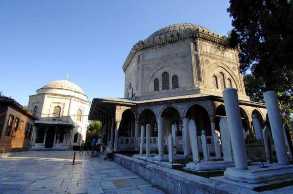 0131-蘇雷曼尼耶清真寺-墓園區.JPG