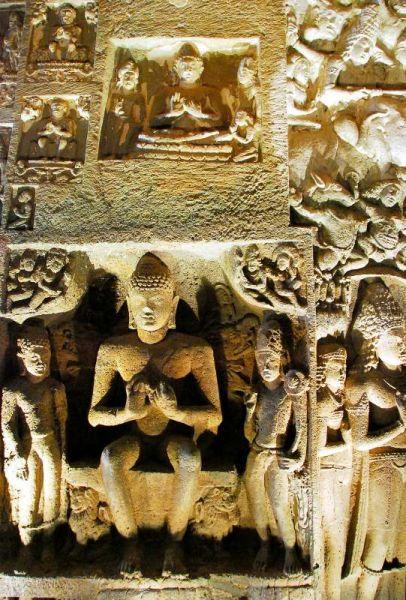 3193-阿姜塔石窟-26號洞窟室內牆壁雕像.JPG