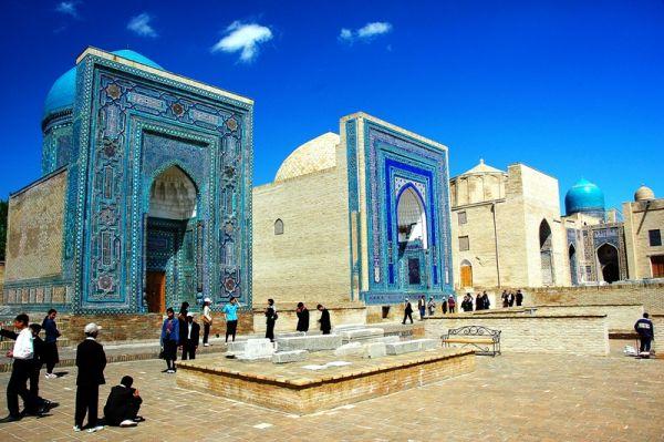 1432-烏茲別克-歷代帝王陵寢群.JPG